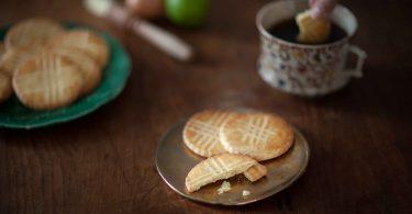 galettes bretonnes au rhum et au citron vert