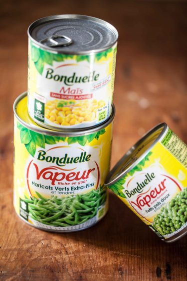 boîtes de conserve Bonduelle©panierdesaison-11