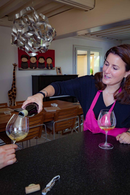 Photo tirée du livre de Anne Reverdy A la Table des Vignerons