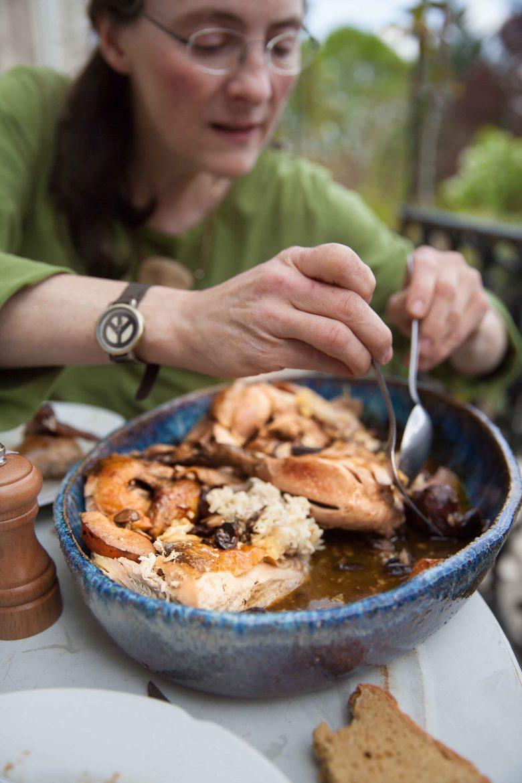 Photo du livre de Anne Reverdy A la Table des Vignerons