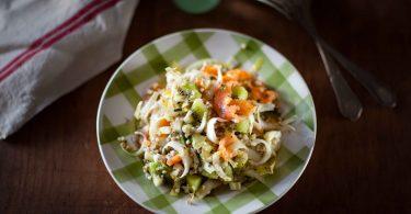 Salade de sarrasin, endives, kiwi et truite fumée©panierdesaison-11
