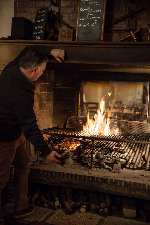 Auberge du Vieux Vigneron Charles Fagot A la Table des Vignerons ©panierdesaison