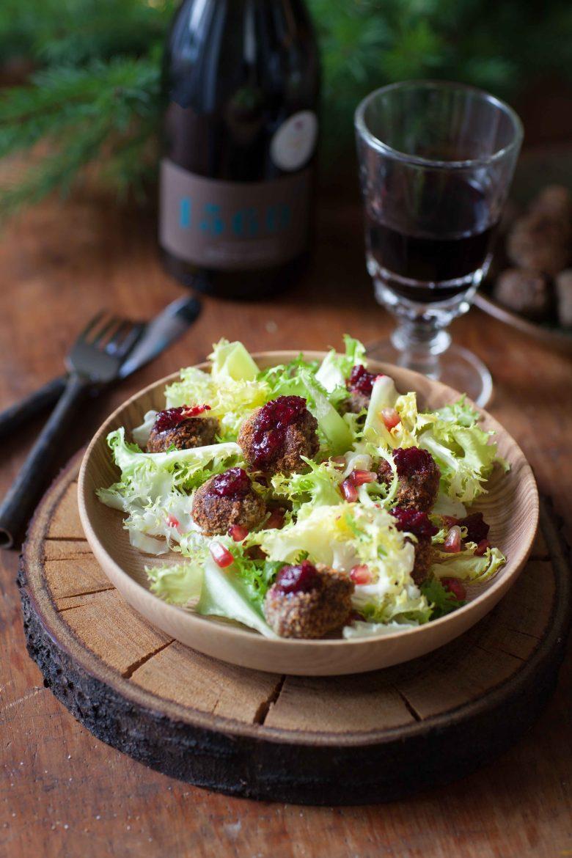 Boulettes de boeuf confiture de betteraves et canneberges recette à la danoise Hygge