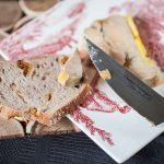 foie gras a la confiture de coing pain de la tour d'argent