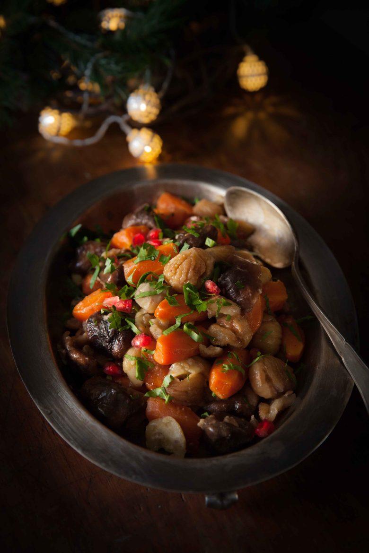 Légumes de Noël lentins de chene carottes et marrons©panierdesaison-11