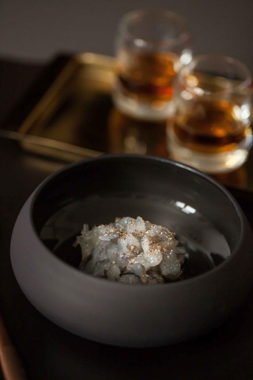 Pho à la bisque de crevettes Whisky Jura ©panierdesaison