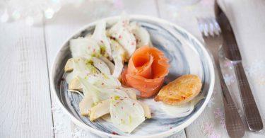 Salade de saumon fumé fenouil artichauts et Puligny Montrachet Chanzy©panierdesaison-21