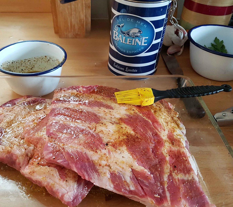 recette de marinade de travers de porc coustous