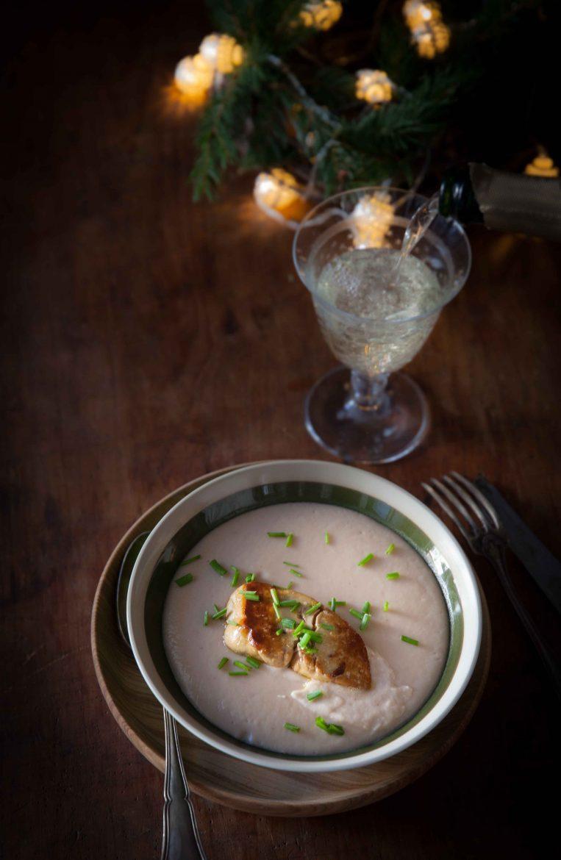 Velouté de fenouil, céleri et marrons au foie gras©panierdesaison-21