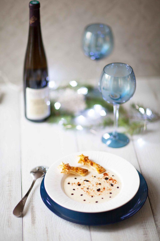creme de chou fleurs au parmesan caviar liquide-11
