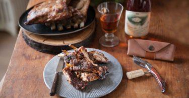 recette de travers de porc fumés au hêtre et au sapin