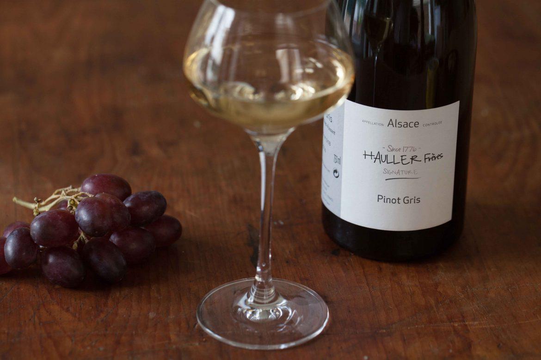 pinot gris hauller freres vin blanc