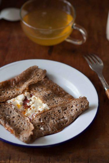 crepe bretonne chorizo feta