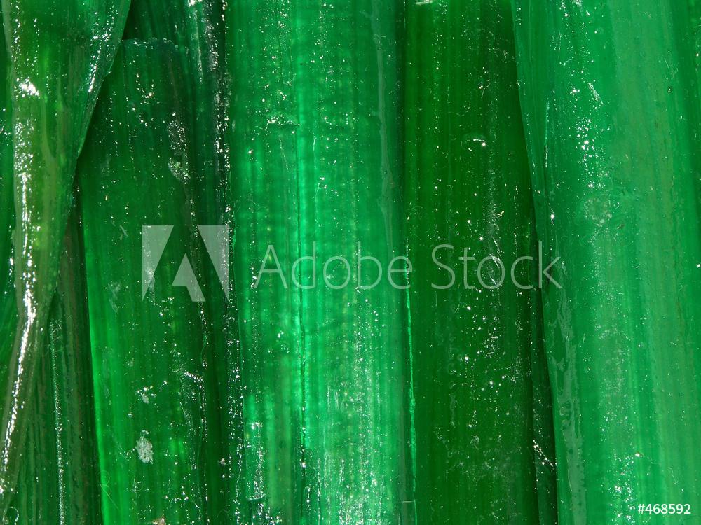 Bâtons d'angélique industrielle verte foncée