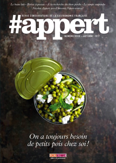 couverture du n°2 du mook #appert