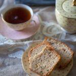 recette de cake aux amandes et à l'angélique confite