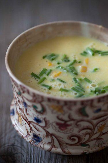recette ultra simple de soupe au maïs