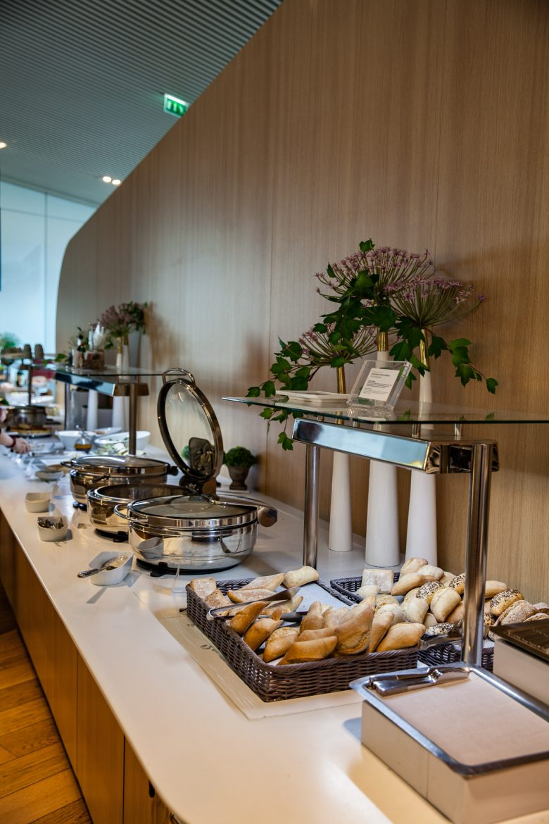 buffet non stop proposé en lounge Air France