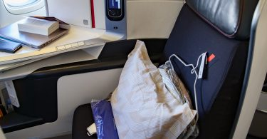 le fauteuil full flat de la cabine Best Business Air France que l'on trouve sur les boeings 777 de la compagnie
