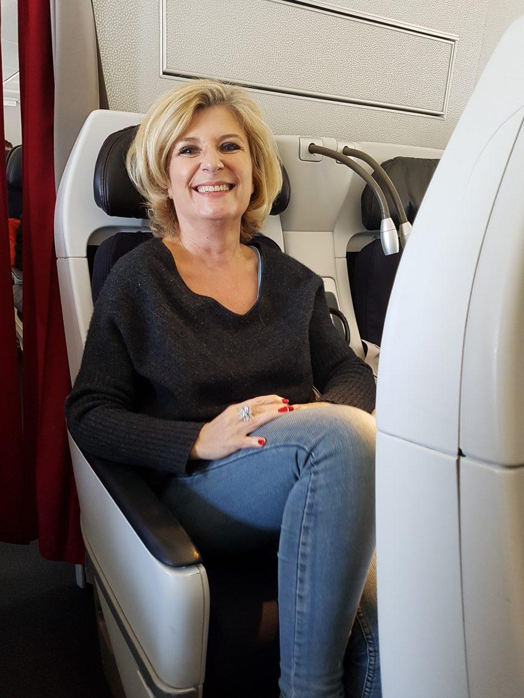 Fauteuil de la classe Economy Premium Air France