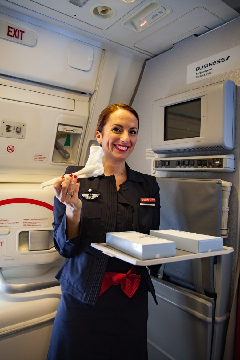 le service sur la cabine Best Business Air France