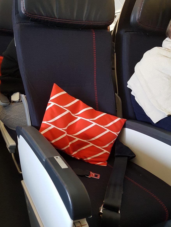 Fauteuil Economy d'Air France en Boeing 777