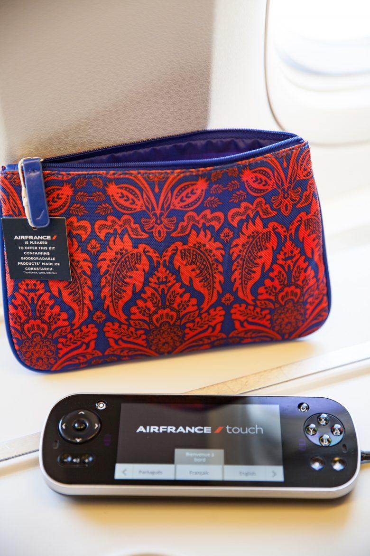 pochette trousse vanity de la cabine Best Business Air France