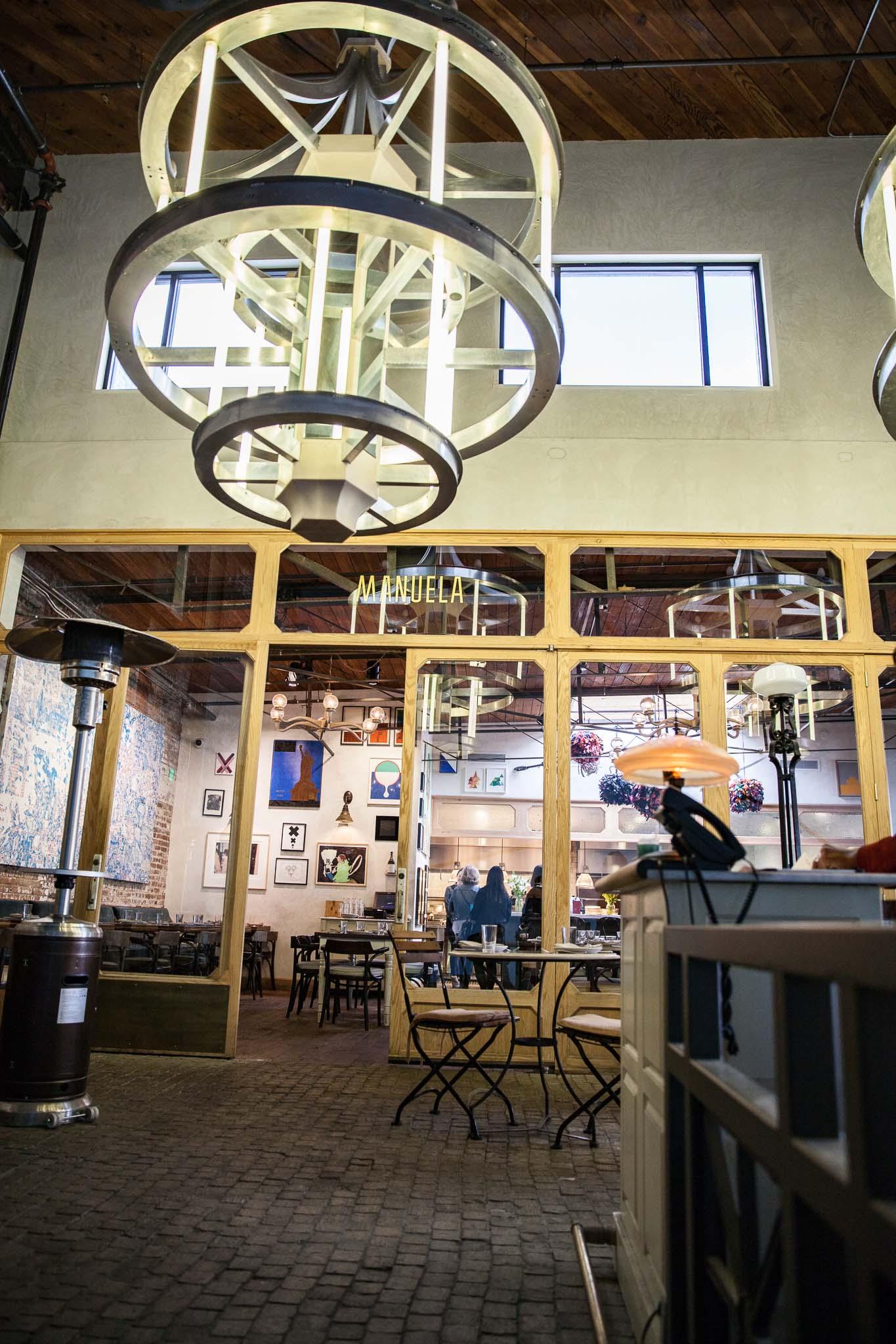 Los Angeles autrement découvrir Manuela restaurant à Hauser & Wirth