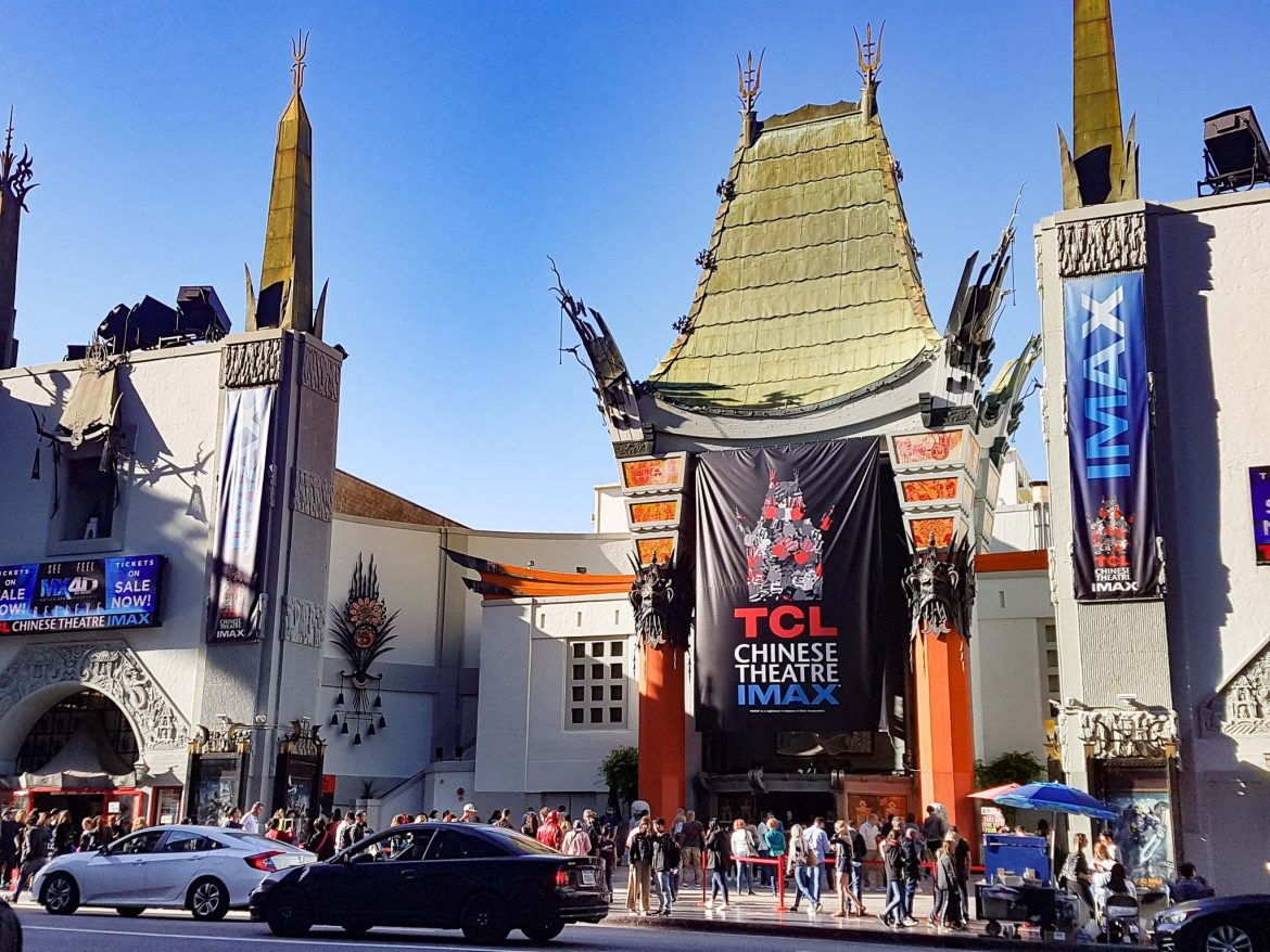 chinese theater à Los Angeles sur Hollywood blvd