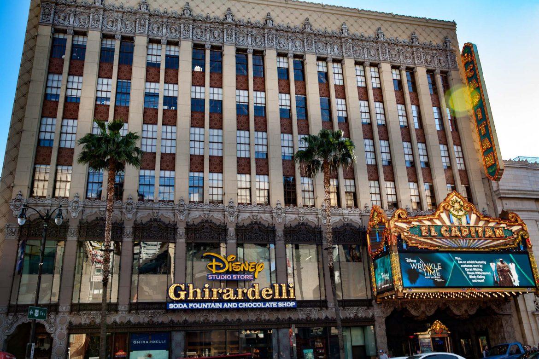 Le très beau El Capitan Theater