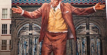 Mural of Anthony Queen w 3rd st LA. Los Angeles autrement visiter la ville à pied