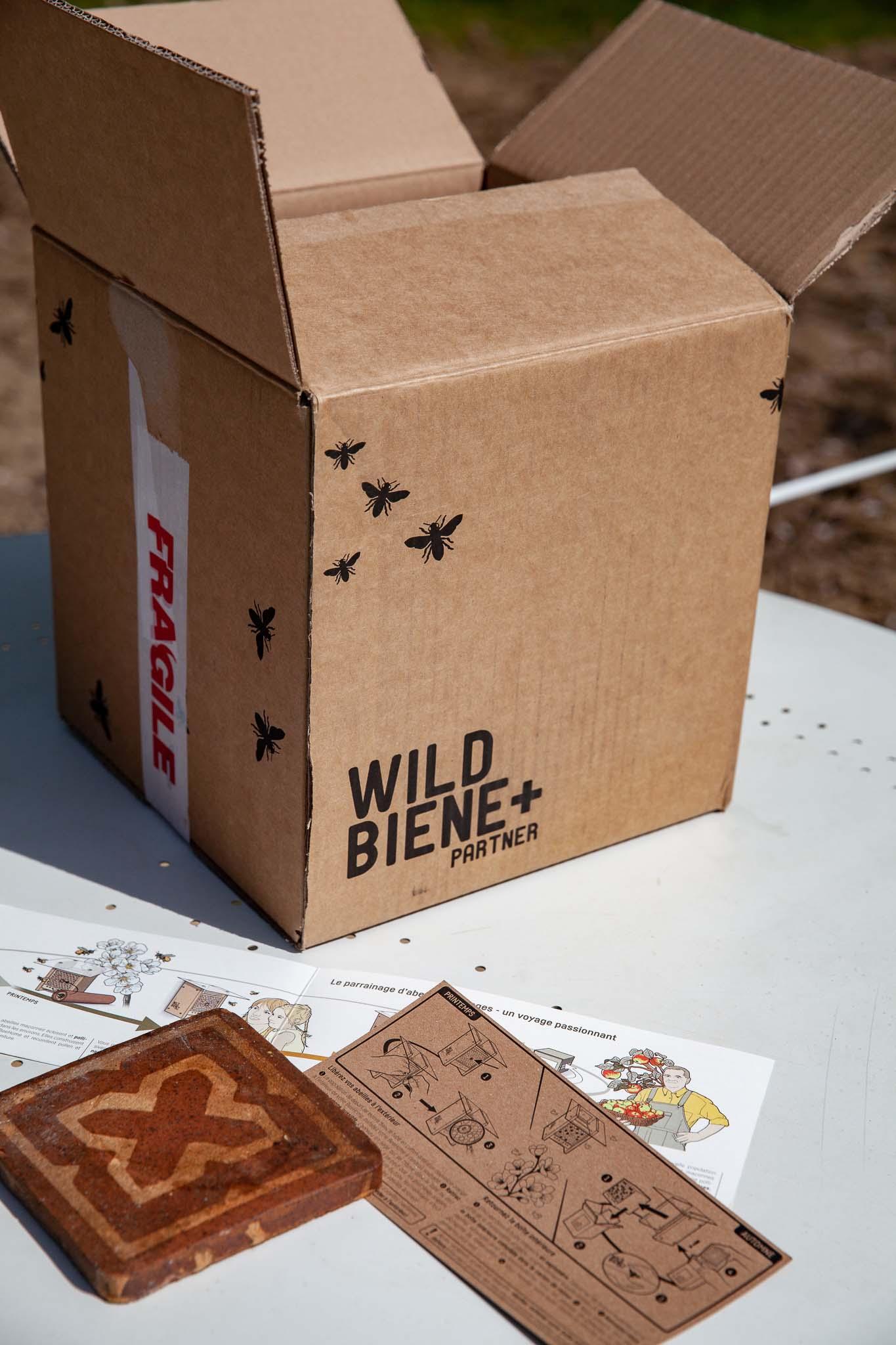 carton de Wildbiene+Partner