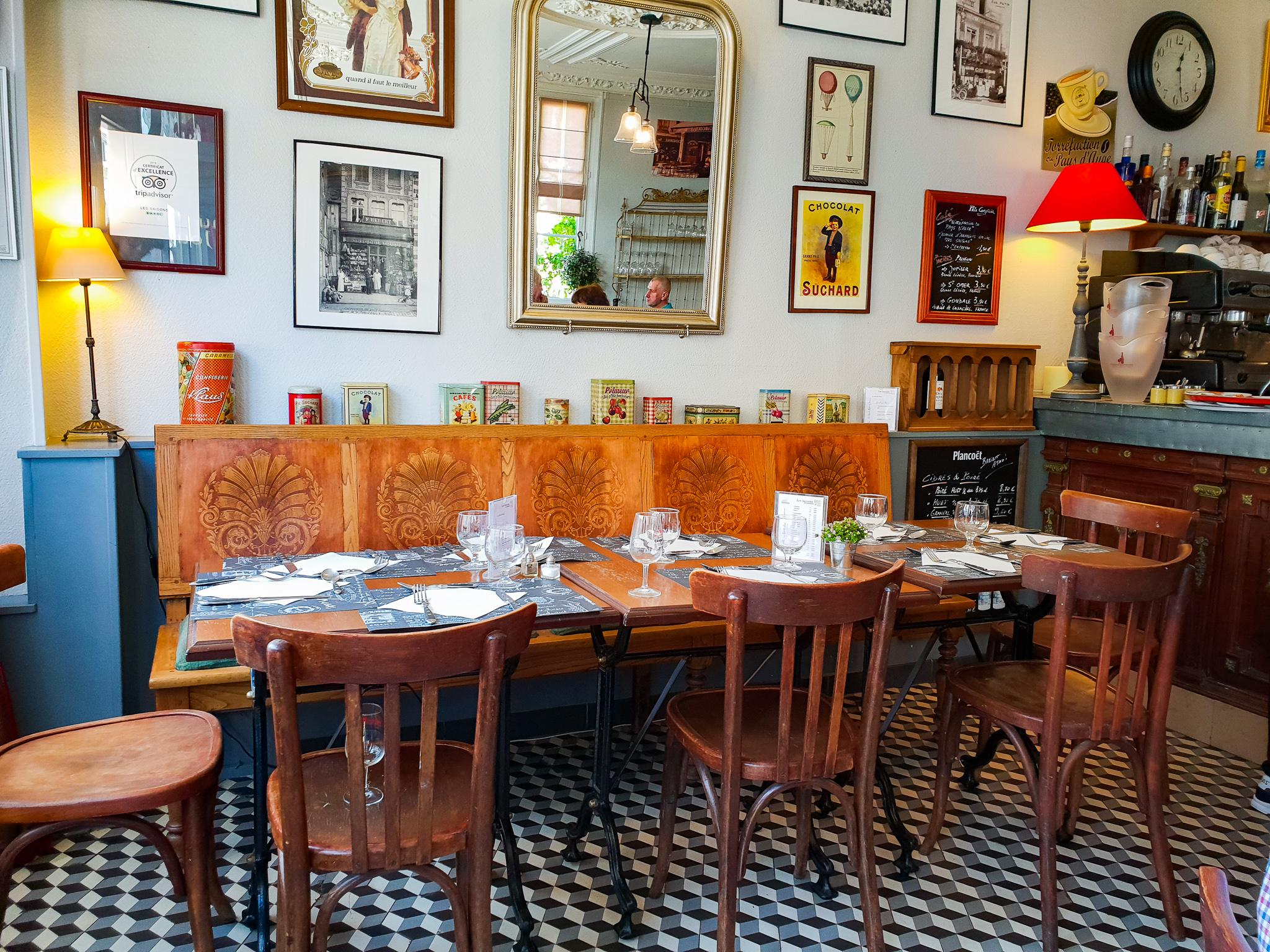 Les Saisons restaurant Festival des aoc de Cambremer 2018