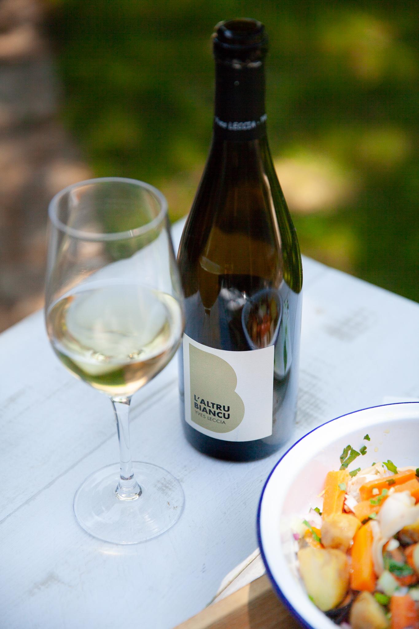vin blanc corse Patrimonio 'Altru Biancu de Yves Leccia