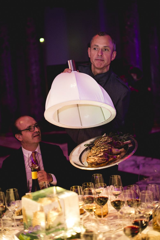 Agneau en écailles de champignons par Ronan Kervallec