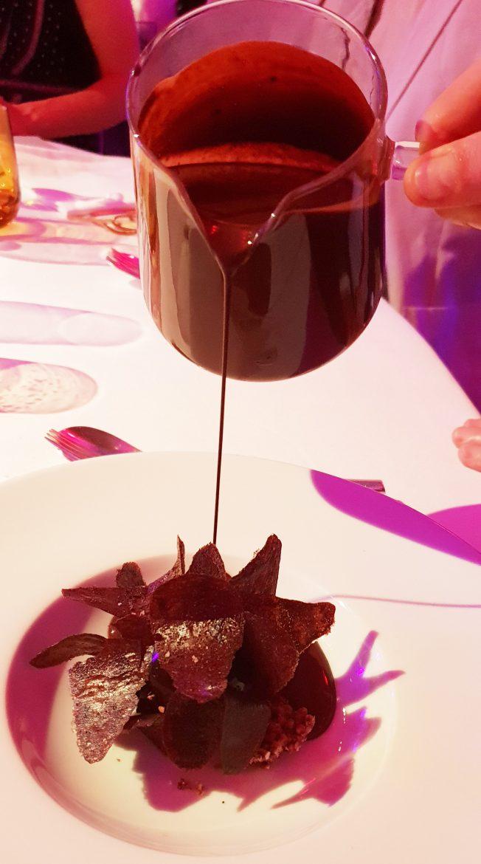 Le dessert Le Chocolat de Cedric Grolet pour les Plumes du vin 2018