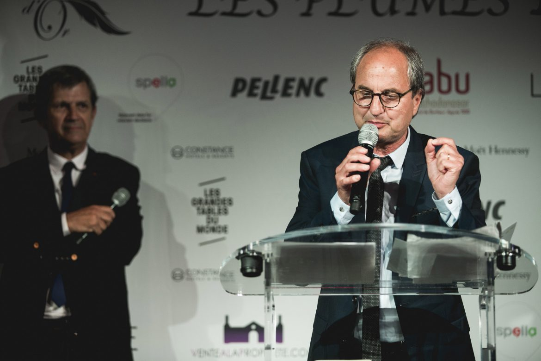 Présentation des Plumes d'Or du Vin et de la Gastronomie 2018 par Paul Ansallem et Patrick Chêne
