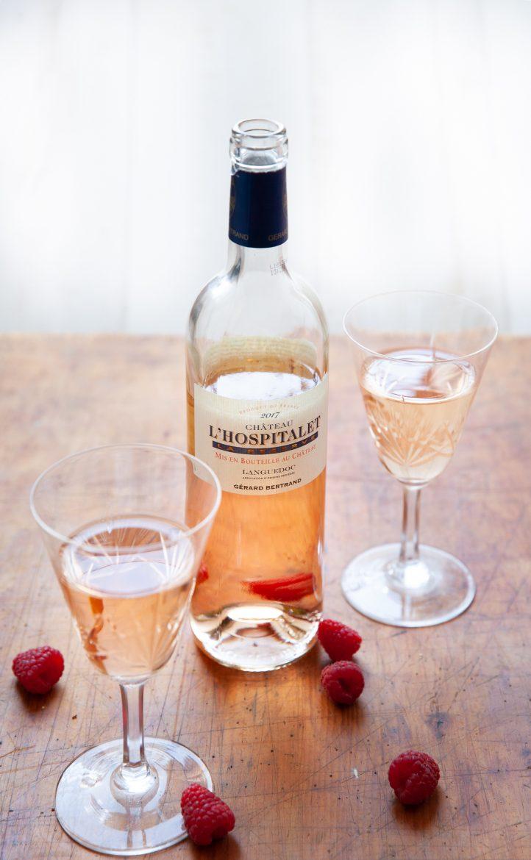 Vin rosé de Gérard Bertrand L'Hospitalet