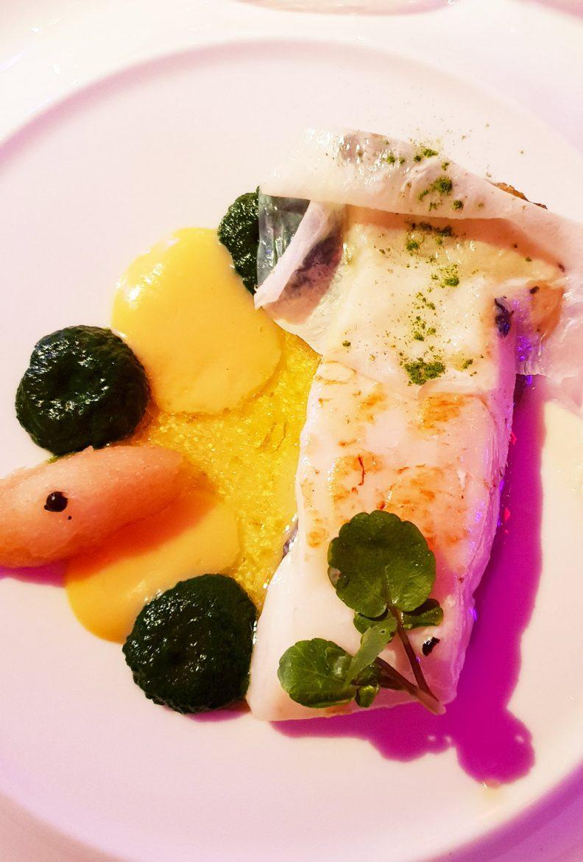 Le poisson par Christian Le Squer: turbot à la plancha