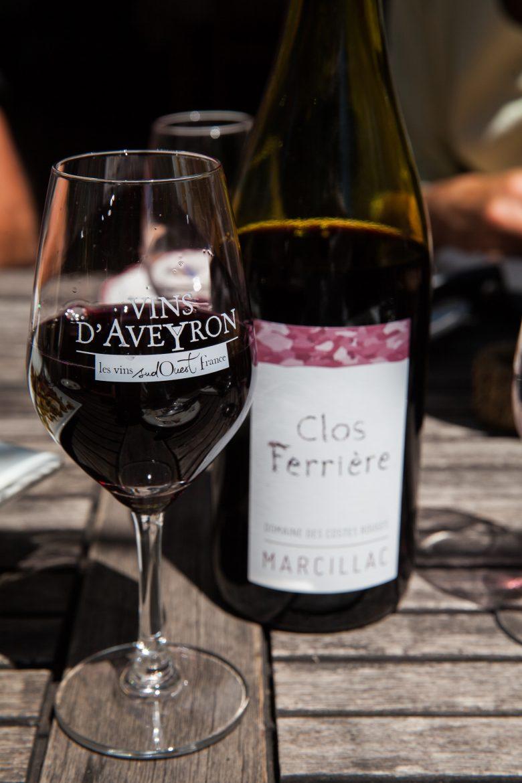 Clos Ferrières grand vin de Marcillac du Domaine des Costes Rouges