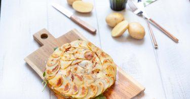 Piadina de pommes primeur