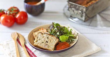 La recette du cake au thon et coulis de tomates