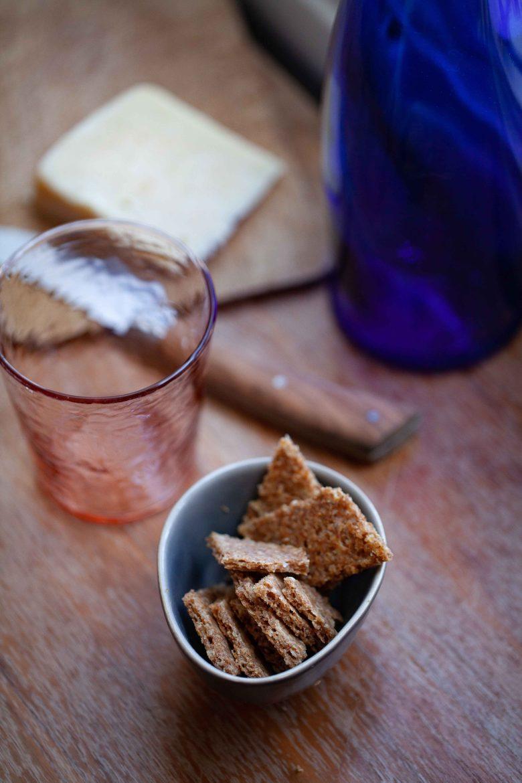 recette facile de crackers keto  maison