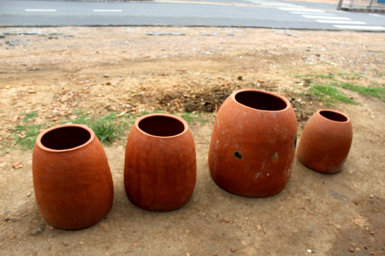 Fours tandoor en terre cuite
