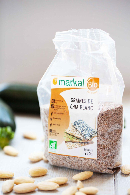 graines de chia blanc de Markal
