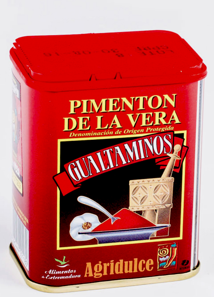 pimenton de la vera de la marque Gualtaminos agridulce