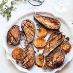 recette d'aubergines confites à la fleur de sel au citron