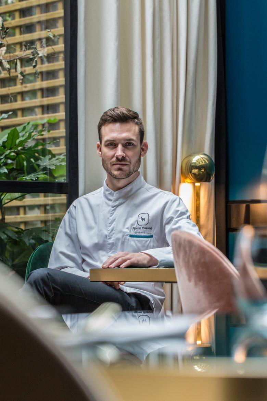 Rémy Bérerd, le chef executif du restaurant Le Roch