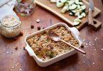 Ma recette du crumble de courgettes aux noisettes
