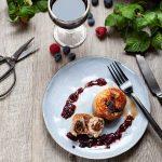 la recette des paupiettes de veau aux olives noires et sauce au vin